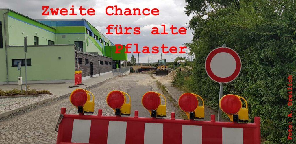 Alte Güterladestraße in Borsdorf. Foto: André Dreilich